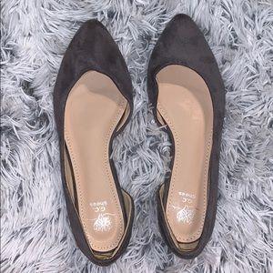 Shoes - Gray flats!